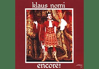Klaus Nomi - ENCORE (NOMI S BEST) [CD]