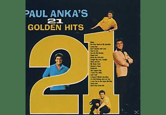 Paul Anka - 21 GOLDEN HITS  - (CD)