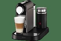 KRUPS XN730T Krups Nespresso CitiZ & Milk Kapselmaschine Titan