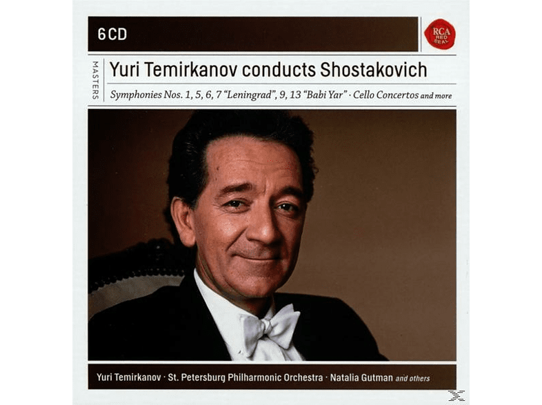 Yuri Temirkanov - Yuri Termirkanov Conducts Shostakovitch [CD]