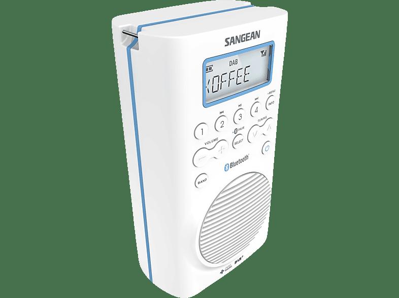 SANGEAN H 205 BT Radio (DAB+, UKW, Weiß)