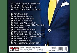 Peter Zimmer - Peter Zimmer: Spielt Melodien Von Udo Jürgens  - (CD)