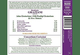 Consortium Carissimi - Adae Oratorium/Filli Prodigi Oratorium/+  - (CD)