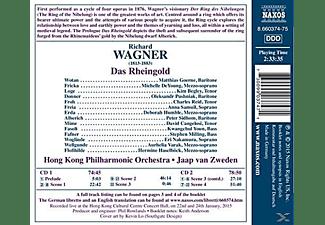 Matthias Goerne, Michelle Deyoung, Hong Kong Philharmonic Orchestra, VARIOUS - Das Rheingold  - (CD)