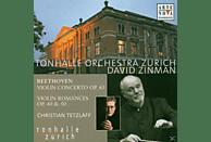 Ludwig Van Beethoven, Zinman/Tetzlaff/Tonhalle Orch. - Violinkonzert Und Romanzen [CD]