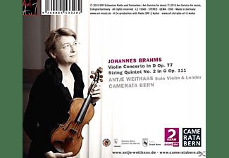 Antje Weithaas, Camerata Bern - Violin Concerto / String Quintet Op. 111  - (CD)