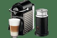 KRUPS XN301T Nespresso Pixie Kapselmaschine, Electric Titan