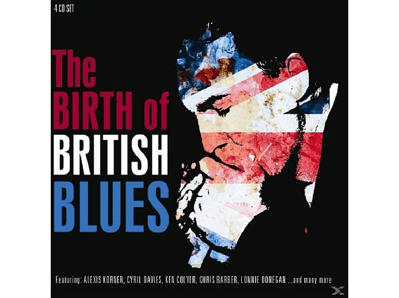 VARIOUS - Birth Of British Blues [CD]