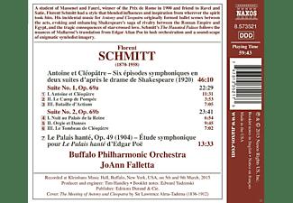 Joann Falletta, Buffalo Philharmonic Orchestra - Antoine Et Cleopatre/Le Palaise Hante  - (CD)