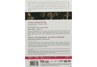 Gerard Schwarz, Lola Astanova, David Kim, The All-star Orchestra - Programs 9 & 10: Visions Of New York  - (DVD)