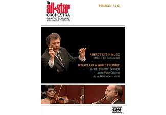 David Kim, Erik Ralske, The All-star Orchestra, Anne Akiko Meyers - Programs 11 & 12: A Hero's Life In Music - (DVD)