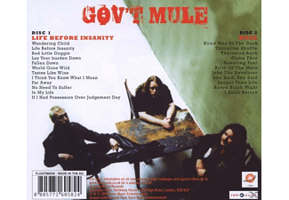 Gov't Mule - Dose / Life Before Insanity  - (CD)