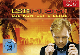 CSI: Miami - Staffel1-10 (Komplettbox) DVD