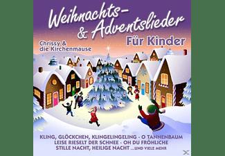 Chrissy & Kirchenmäuse - Weihnachts- & Adventslieder Fu  - (CD)