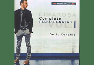 Dario Candela - Sämtliche Klaviersonaten Vol.1  - (CD)