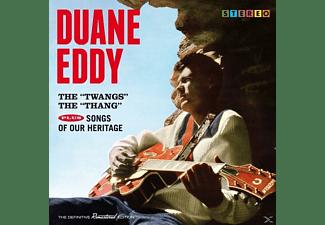 Duane Eddy - The Twangs The Thang+Songs Of Our Heritage+7  - (CD)