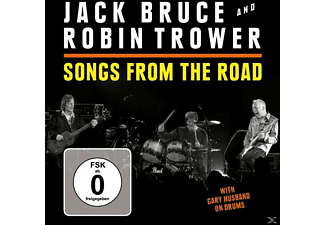 Jack Bruce, Robin Trower - Songs From The Road  - (CD + DVD Video)