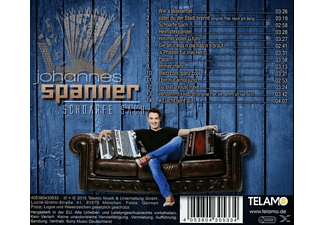 Johannes Spanner - Schoarfe Sach  - (CD)