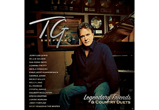 T.G. Sheppard - Legendary Friends & Co.  - (CD)