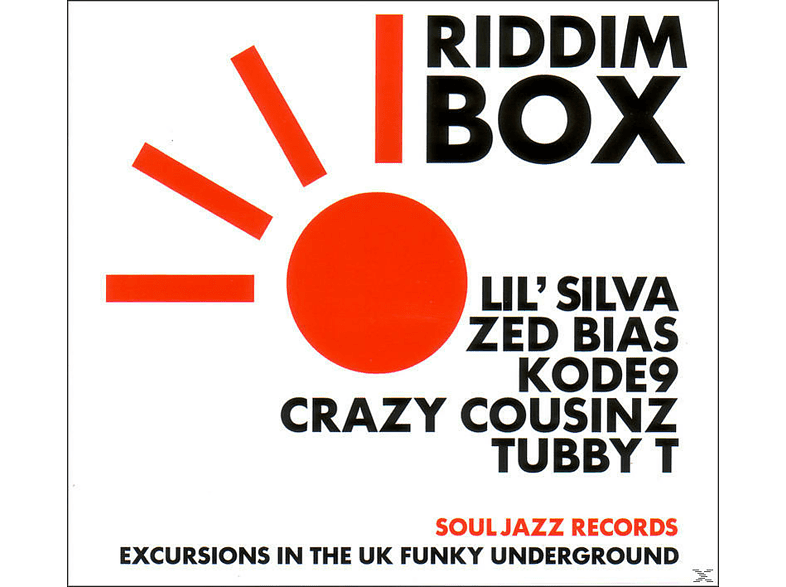 VARIOUS - Riddim Box [CD]