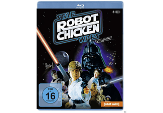 Robot Chicken Star Wars: Episode 1-3 - (Blu-ray)