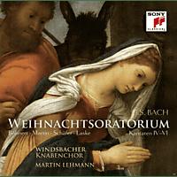 Windsbacher Knabenchor, Martin Lehmann, VARIOUS - Weihnachtsoratorium 4-6 - [CD]