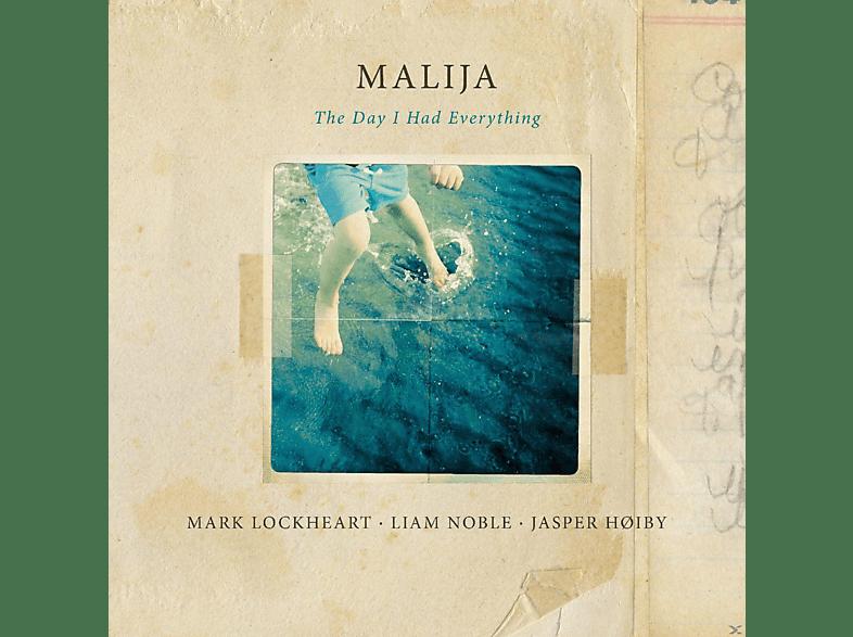 Liam Noble, Jasper Hoiby, Mark Lockheart - Malija-The Day I Had Everything [Vinyl]