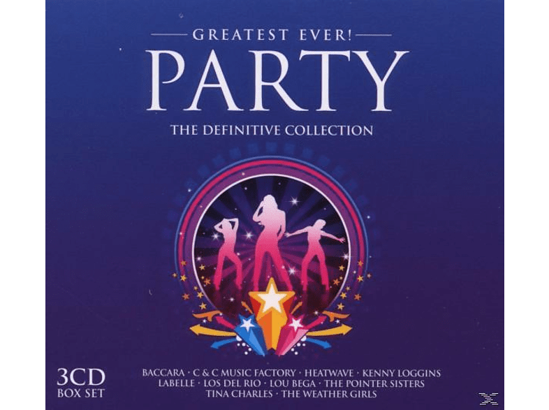 VARIOUS - Party-Greatest Ever [CD]