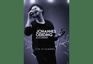 Johannes Oerding - Alles brennt (Live in Hamburg)  - (DVD)