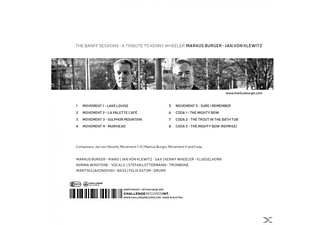 Markus Burger, Jan von Klewitz, Kenny Wheeler, Norma Winstone, Stefan Lotterman, Martin Gjakonovski, Felix Astor - The Banff Sessions-A Tribute To Kenny Wheeler  - (CD)