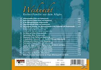 Kerber-familie Aus Dem Allgäu - Weihnacht-Instrumental  - (CD)