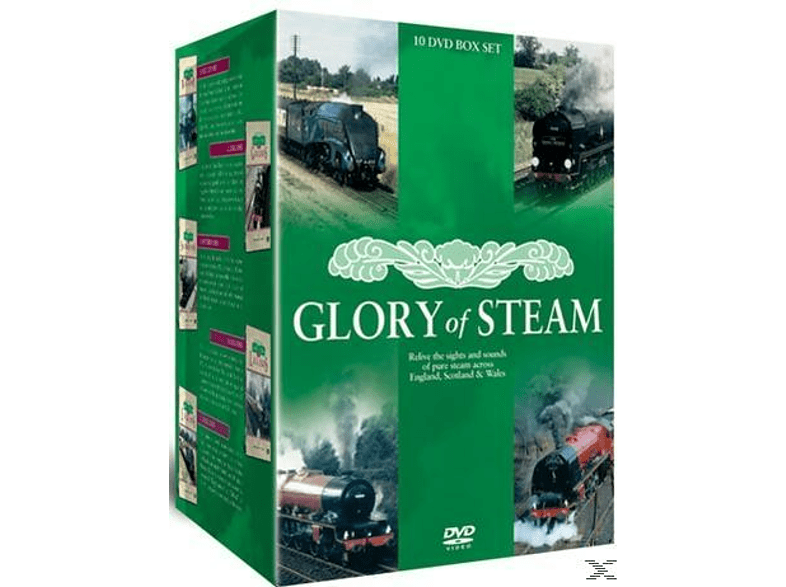 Glory Of Steam 10 Dvd Box Set [DVD + Video Album]