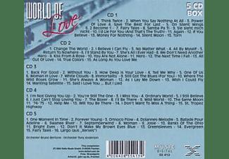 VARIOUS - World Of Love  - (CD)