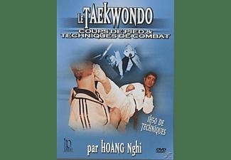 TAEKWONDO FUSSTRITTE KAMPFTECHNIKEN DVD
