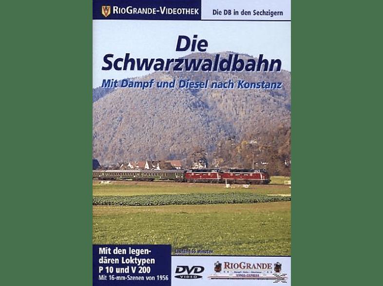 Die Schwarzwaldbahn - Mit Dampf und Diesel nach Konstanz [DVD]
