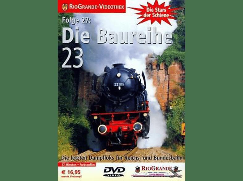 DIE BAUREIHE 23 - DIE LETZTEN DAMPFLOKS FÜR REICH [DVD]