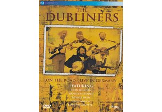 The Dubliners - ON THE ROAD - LIVE IN GERMANY - (DVD)