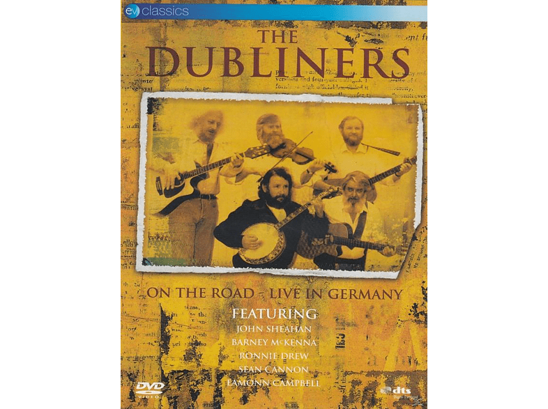 The Dubliners - ON THE ROAD - LIVE IN GERMANY [DVD]