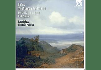 Alexander Menikov, Isabelle Faust - Violinsonaten Op.100 & 108  - (CD)