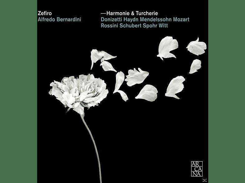 Alfredo Bernardini, Zefiro - Harmonie & Turcherie [CD]