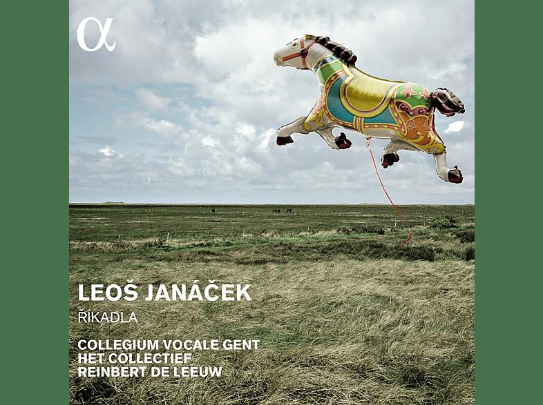 Het Collec, Collegium Vocale Gent, Reinbert De Leeuw - Rikadla [CD]