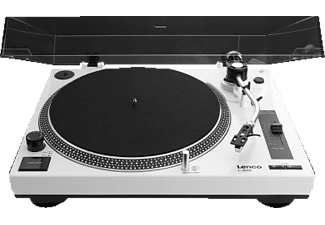 LENCO L 3808 Plattenspieler Weiß