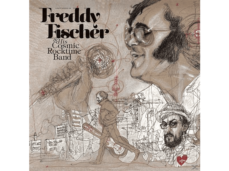 Freddy & Cosmic Rocktime Band Fischer, Freddy & His Cosmic Rocktime Band Fischer - Dreimal Um Die Sonne [Vinyl]