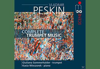 Giuliano Sommerhalder, Kasia Wiesczorek - Sämtliche Musik Für Trompete  - (SACD Hybrid)