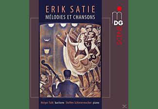 Steffen Schleiermacher, Holger Falk - Mélodies Et Chansons  - (CD)