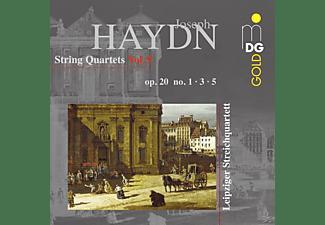 Leipziger Streichquartett - Streichquartette Op.20-1, 3, 5  Vol.9  - (CD)