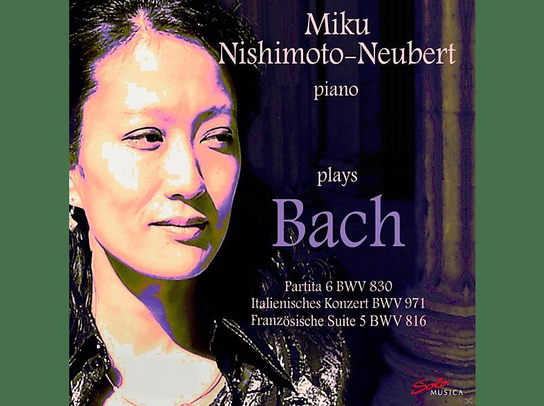 Miku Nishimoto-neubert - Nishimoto-Neubert Plays Bach [CD]