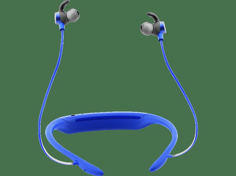 JBL Reflect Response BT, In-ear Kopfhörer Bluetooth Blau