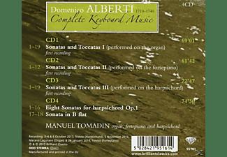 Manuel Tomadin - Complete Keyboard Music  - (CD)