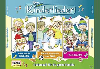 Kinderliederbande - Meine Ersten Kinderlieder-01/3er Box (Jahr, Tier  - (CD)